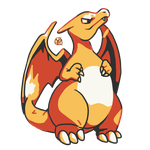 Retro Charizard by QueenKami