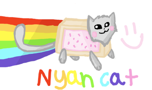 Nyan cat :3 by SoulCats