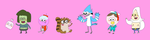 Regular Show Kids by OysteIce
