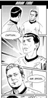 Star Trek TOS Amok time by IrvinIS