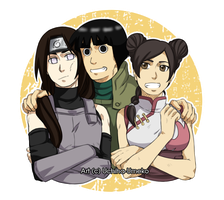 Team Gai2 by Uchiha-Umeko