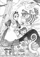 Alice in Wonderland. by chengxiangarts