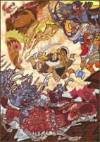 Battle of Five Armies by breathing2004