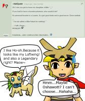 Ask Skyward Link and Wind Link 21 by LinkofSkyWind