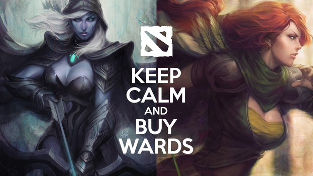 Keep Calm and Buy Wards by Arood