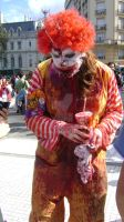 Zombie Walk Argentina ronald by DegBaker