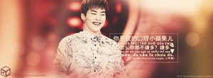 20150226. Quotes Xiumin - Little Apple - for HCA. by GenieDesigner