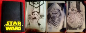 STAR WARS Sketchbook 1 by RUIZBURGOS