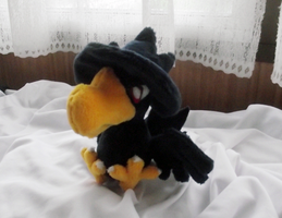 Murkrow Pokedoll by xBrittneyJane