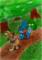 Pokemon Mystery Dungeon by sapph96