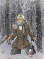 LESTAT the wolfkiller by NightInk-RcArt