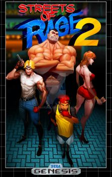 Streets of Rage 2 by Darkdux