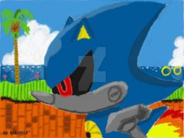 Metal Sonic by SimplyDifficult