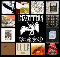 Led Zeppelin Albums by TeeStall