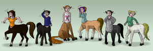 Centaurs. Centaurs everywhere. by oldiblogg