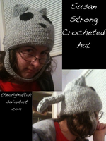 Crocheted Susan Strong Hat by TheOriginalTah