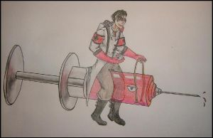 TF2 OC - Dietrich by greenzaku