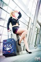 Stewardess~ by Justawaykitty