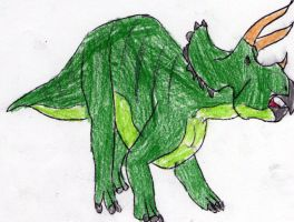 triceratops by lucario515