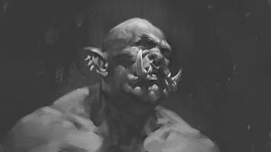Orc sketch by mikrob