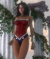 Diana of Themyscira by lyssophobe