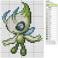 251 - Celebi ii by Makibird-Stitching