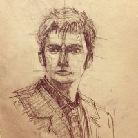 Doctor Who by David Tennant by Misha-Kening
