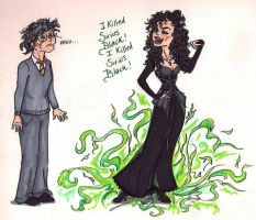 'I Killed Sirius Black' by KatisMrsLovett