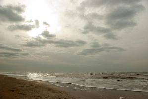 North Sea beach 6 by steppelandstock