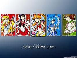 SAILOR MOON WALLPAPER by pepevargas