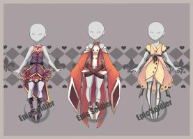 Costume adoptables (closed) by Epic-Soldier
