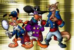 The Disney Afternoon gang by ElectricDawgy