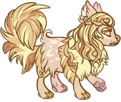 Gold Dog Adoptable CLOSED by Lytschi