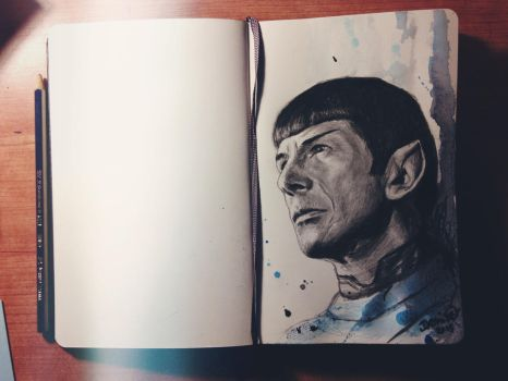 Goodbye Mr.Spock by DeniseEsposito