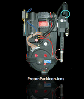 Ghostbusters Proton Pack Icon by tsilvers
