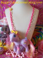 Triple Treat My Little Pony Necklace by lessthan3chrissy