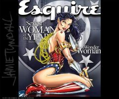 HTC EVO - Wonder Woman Esqs by jamietyndall