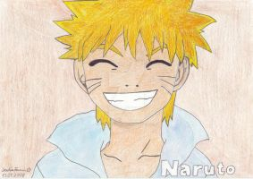 Naruto's big smile by sophiafromm1989