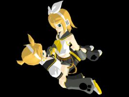Kagamine Twincest by DeathNoteE