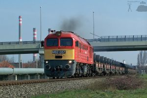 M62 057 with freight in Gyorszabadhegy by morpheus880223