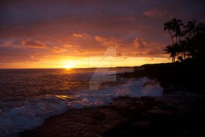 Sunset, Kona by iamintheprocess