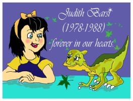 Judith Barsi- forever in our hearts by raggyrabbit94