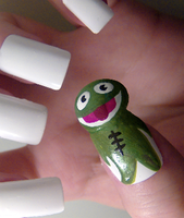 Clyde Frog by KayleighOC