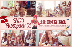 +Girl's Generation Photopack 01 by ErickChoi