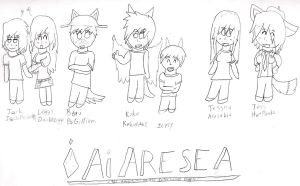 Ai Are Sea Characters 3 by starfoxluver