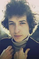 Bob Dylan by ohindiegirl