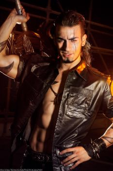 Gladiolus Cosplay - Final Fantasy XV by Leon Chiro by LeonChiroCosplayArt