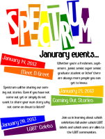 Spectrum Sample Flyer by ItsMeNaturall