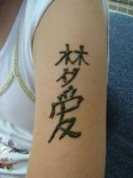 Chinese Symbols by Nomandy