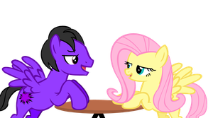 Me and Fluttershy on a Date by 31Darkstar